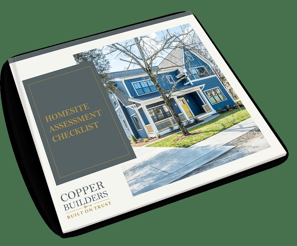 homesite assessment checklist cover image